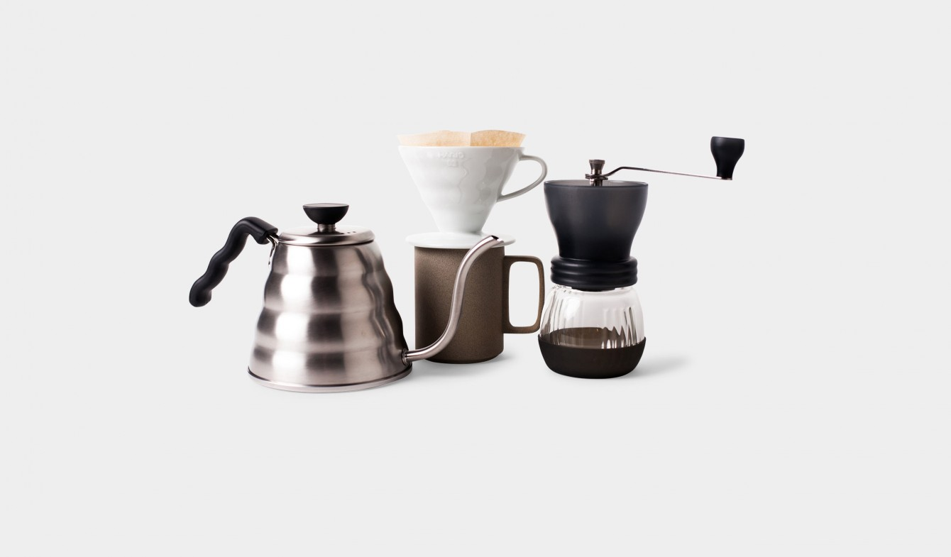 Coffee Gadgets and Cup